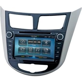 Головное устройство Hyundai Solaris - Intro AHR-2481 SL (Android)