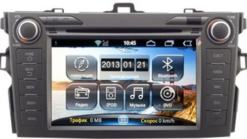 Головное устройство Toyota Corolla - Intro AHR-2284 (Android)