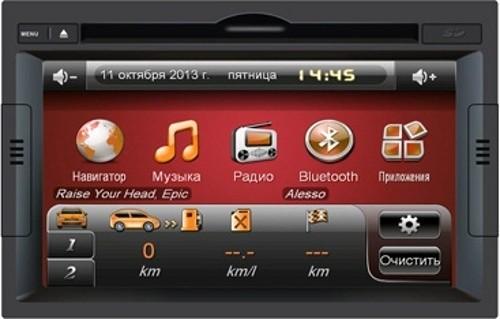 Головное устройство Peugeot 3008 - Intro CHR-2392