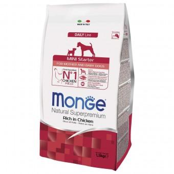 Сухой корм для собак Monge Daily Line - Mini Starter (1,5 кг)