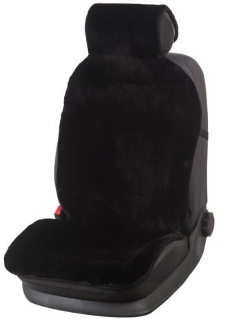 Накидка меховая иск. PSV Mutton (стриж/в, черная, зад, 135х45 см, 1 шт.)
