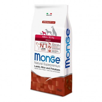 Сухой корм для собак Monge Specialty Line - Mini Adult Lamb (7,5 кг)