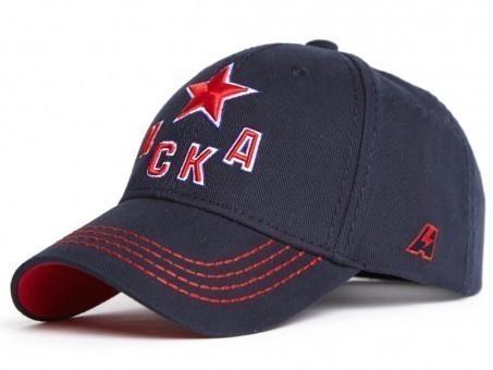 Бейсболка ХК ЦСКА, син.-красн., 55-58, арт.12950
