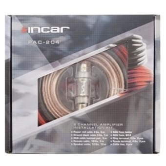 Установочный набор усилителя Incar PAC-204 (2 канала, 4Ga)