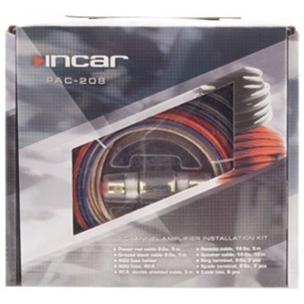 Установочный набор усилителя Incar PAC-208 (2 канала, 8Ga)