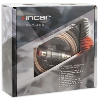 Установочный набор усилителя Incar PAC-408 (4 канала, 8Ga)