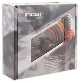 Установочный набор усилителя Incar PAC-410 (4 канала, 10Ga)