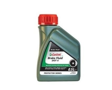Тормозная жидкость Castrol DOT 4 Brake Fluid (0,5 л)