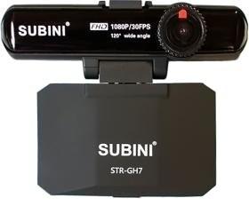 Видеорегистратор с радар-детектором Subini GH7 STR