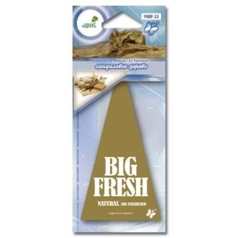 Ароматизатор пластинка Big Fresh PABF-13 (сандал)