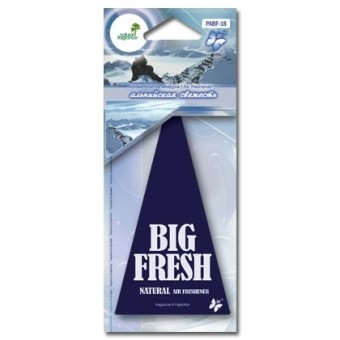 Ароматизатор пластинка Big Fresh PABF-18 (альпийская свежесть)