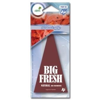 Ароматизатор пластинка Big Fresh PABF-58 (сахарный арбуз)