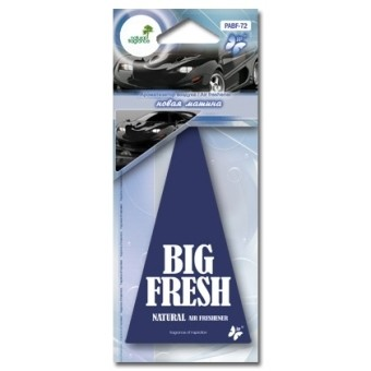 Ароматизатор пластинка Big Fresh PABF-72 (новая машина)