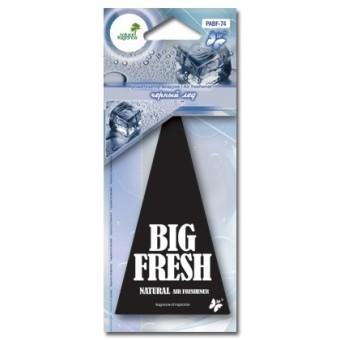 Ароматизатор пластинка Big Fresh PABF-74 (черный лед)
