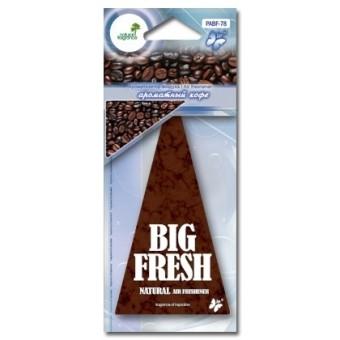 Ароматизатор пластинка Big Fresh PABF-78 (кофе)