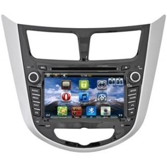 Головное устройство Hyundai Solaris - Intro SHR-5033