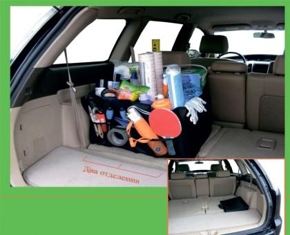 Органайзер PSV 027 Bag (2 отделения, сумка, 58х35х28 см, черная)