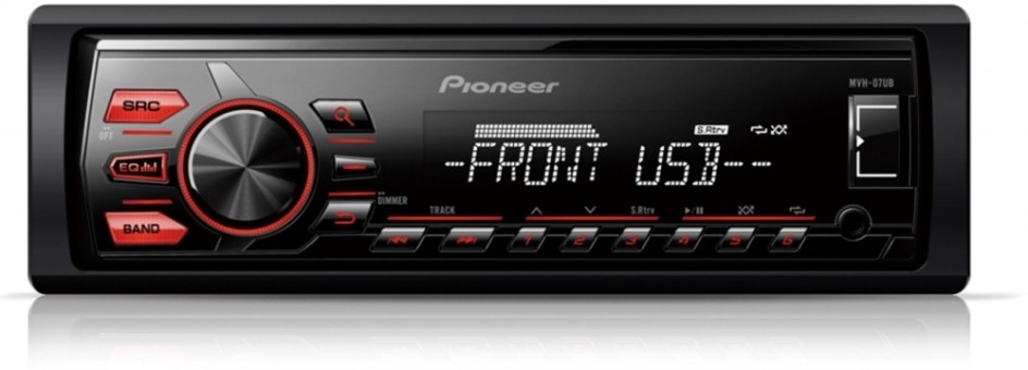 MP3-ресивер Pioneer MVH-07UB
