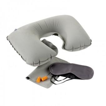 Набор в дорогу 3 в 1 (подушка для шеи, очки для сна, беруши)
