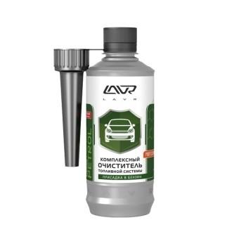 Lavr Ln2123 Очиститель топливной системы присадка в бензин (на 40-60л, 310 мл)
