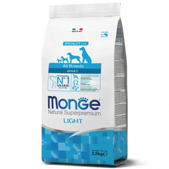 Сухой корм для собак Monge Specialty Line - Adult Light (2,5 кг)