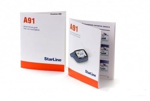 Инструкция StarLine A91