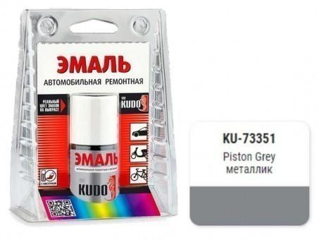 Краска-кисточка KUDO KU-с (Kia, piston grey, металлик)