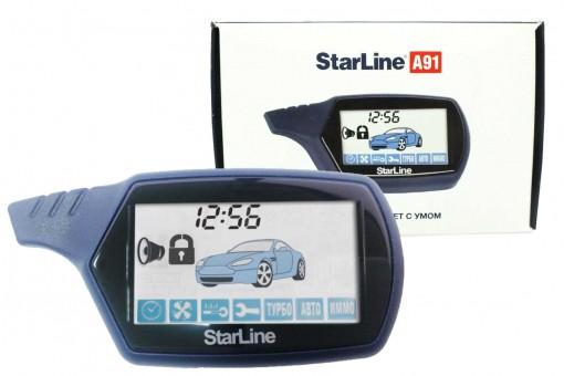 Брелок для а/с StarLine A91 (ж/к, ОРИГИНАЛ)