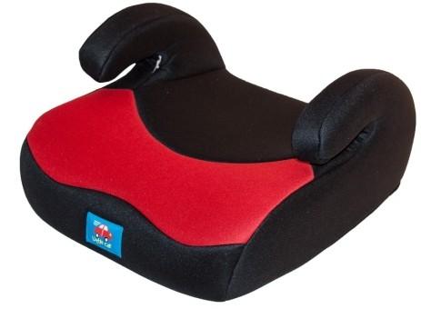 Бустер детский 15-36кг. Little Car 02 B3 красный-черный