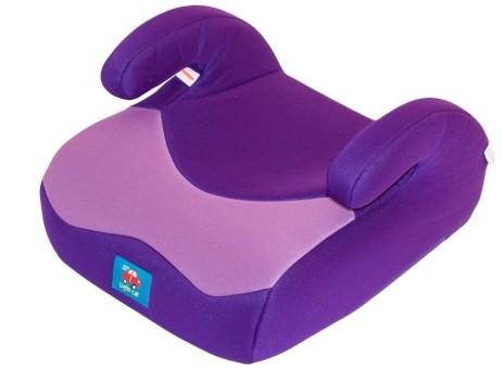 Бустер детский 15-36кг. Little Car 02 B3 фиолетовый