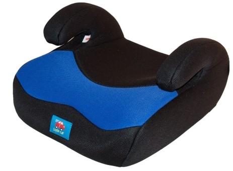 Бустер детский 15-36кг. Little Car 02 B8 синий-черный