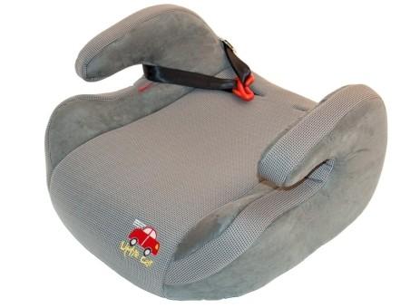 Бустер детский 15-36кг. Little Car 515D серый