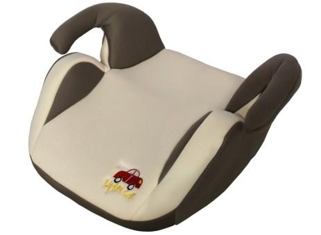 Бустер детский 15-36кг. Little Car LB-311 бежевый