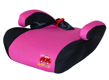 Бустер детский 15-36кг. Little Car LB-781 розовый
