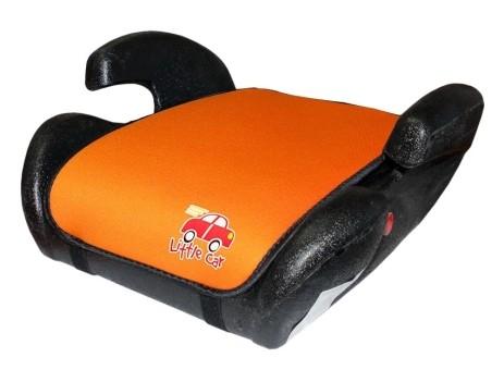 Бустер детский 22-36кг. Little Car Trip оранжевый