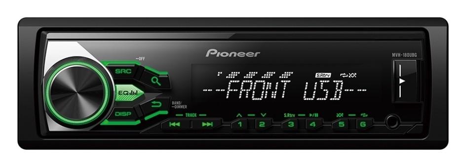 MP3-ресивер Pioneer MVH-180UBG