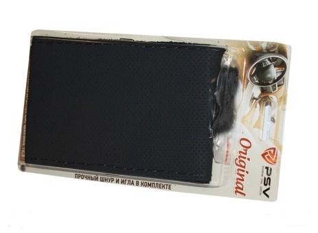Оплетка руля кожаная PSV Classic (черная со шнуровкой)