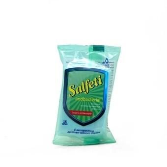 Salfetty Салфетки влажные антибактериальные (для рук, 10 шт.)