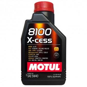 Масло моторное Motul 8100 X-cess 5W40 (1 л)