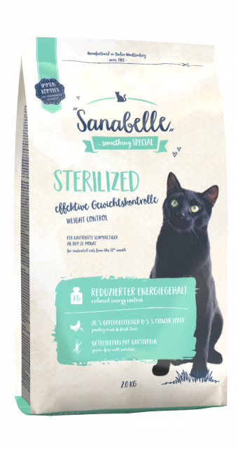 Сухой корм для кошек Sanabelle Sterilized NEW, 2 кг