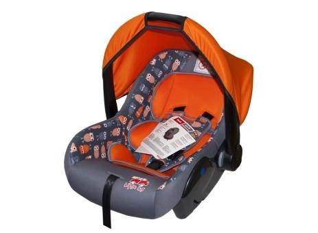 Автокресло детское 0-13кг. Little Car Sweet совы-оранжевый