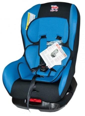 Автокресло детское 0-18кг. Little Car Soft синий