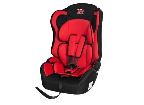 Автокресло детское 9-36кг. Little Car Comfort красный