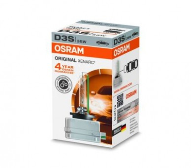 Ксеноновая лампа Osram D3S Xenarc Original 4300K
