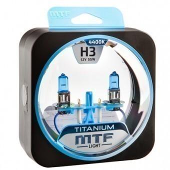 Лампы MTF Titanium H3 (12 V, 55 W, 2 шт)