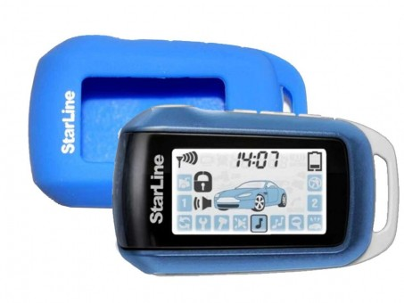 Чехол силиконовый Старлайн A62/A92 (синий)