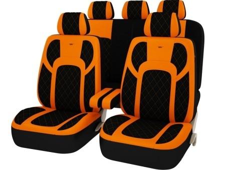 Чехлы PSV Drift (Оранжевый) L, экокожа + велюр