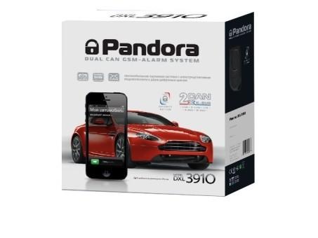 Автосигнализация Pandora DXL 3910 CAN GSM (а/з)