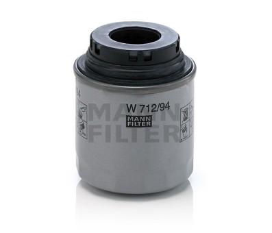 Фильтр масляный MANN-FILTER W 712/94