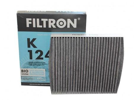 Фильтр салонный Filtron K 1241A (CUK 2141) угольный